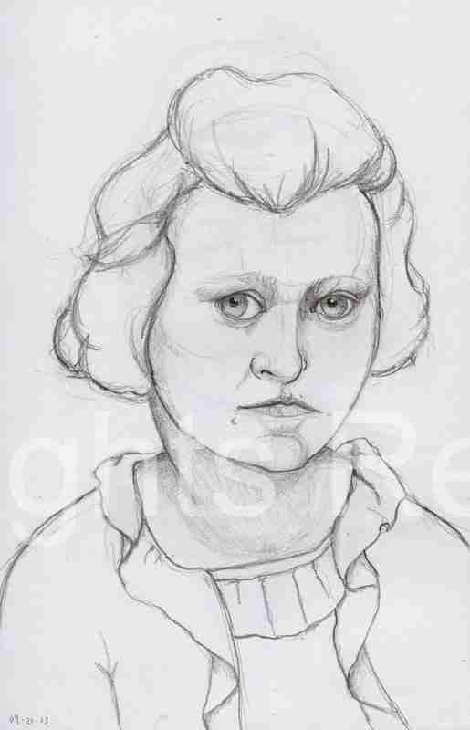 young woman mugshot 1920s